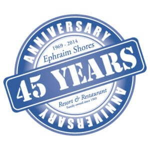 Ephraim-SHores-45th-Logo