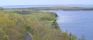 Ephraim resort - Ephraim Shores - Peninsula State Park - photo WI DNR