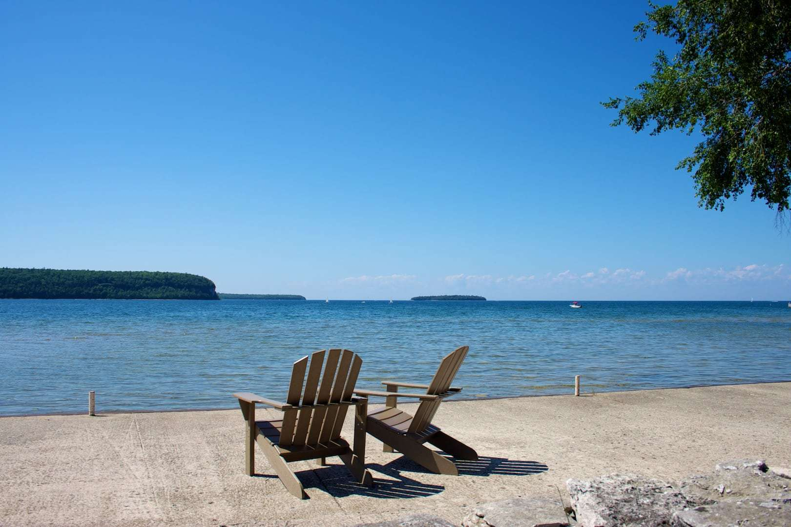 Door County waterfront resort - Ephraim Shores