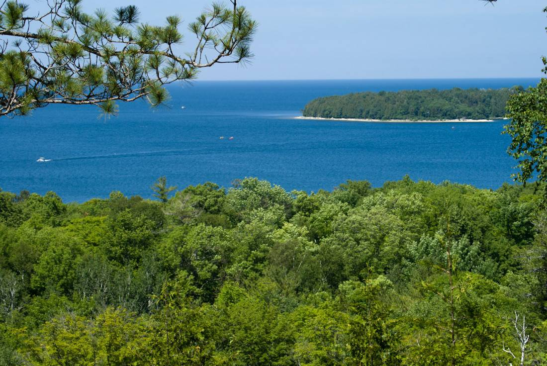 State parks in Door County - Peninsula State Park