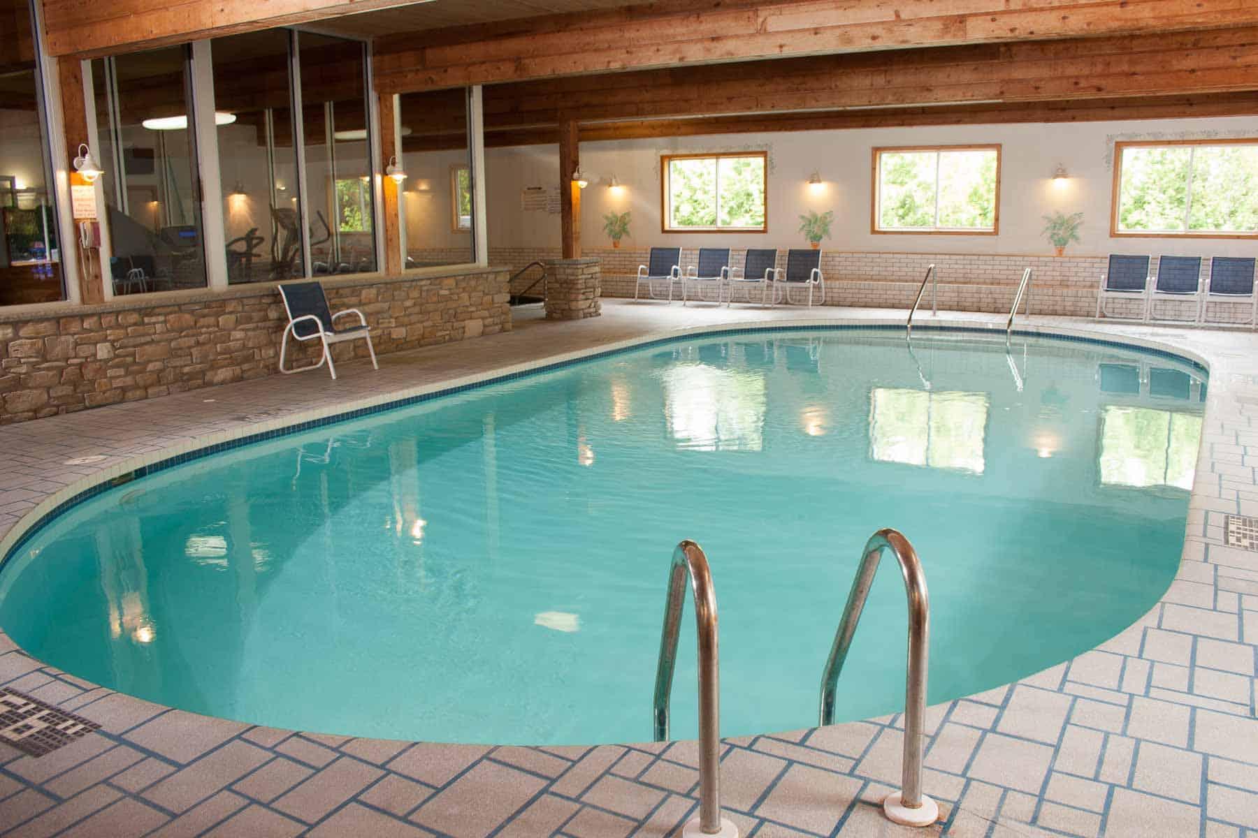 Indoor pool at Ephraim Shores
