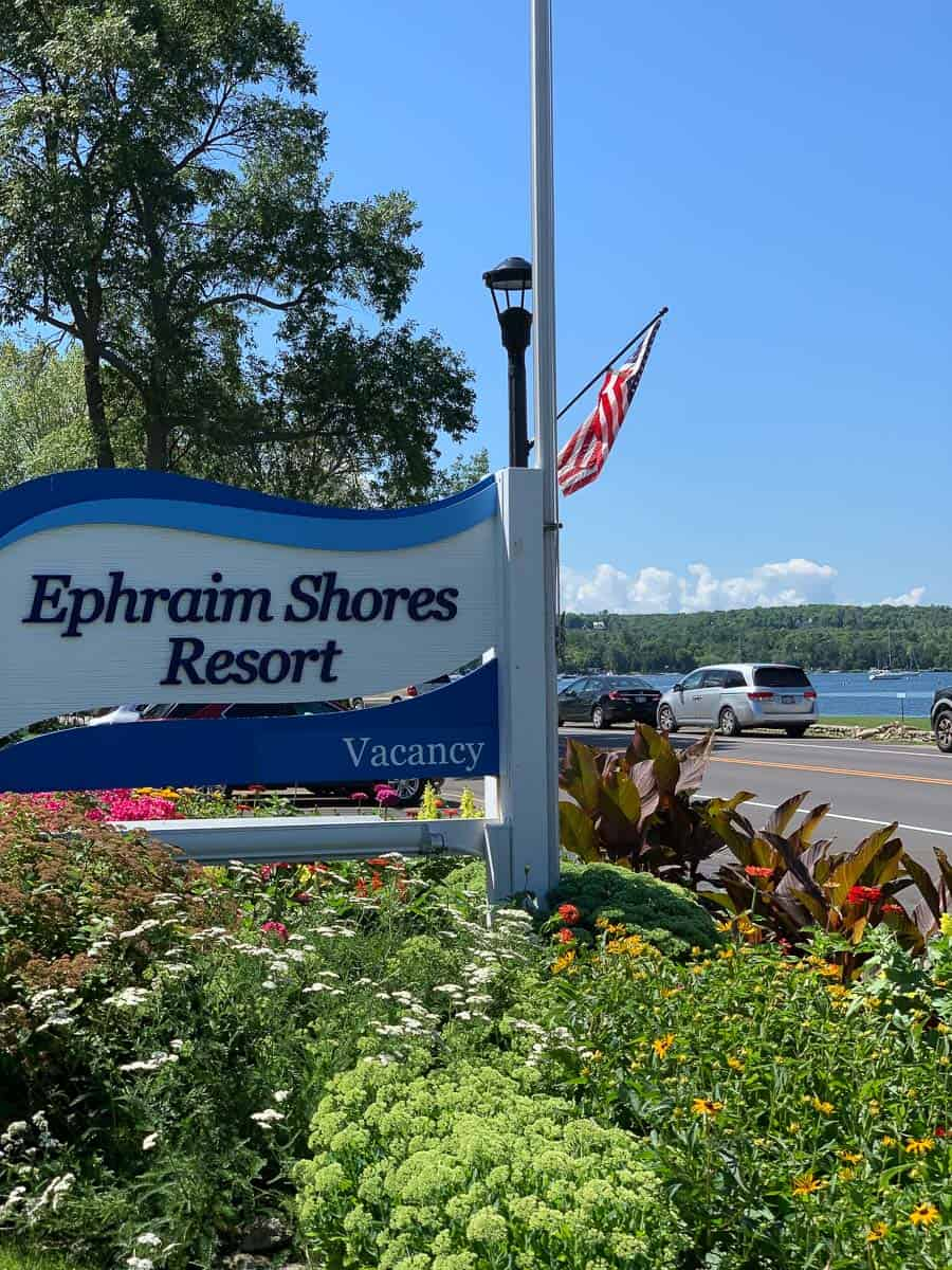 Ephraim Shores sign
