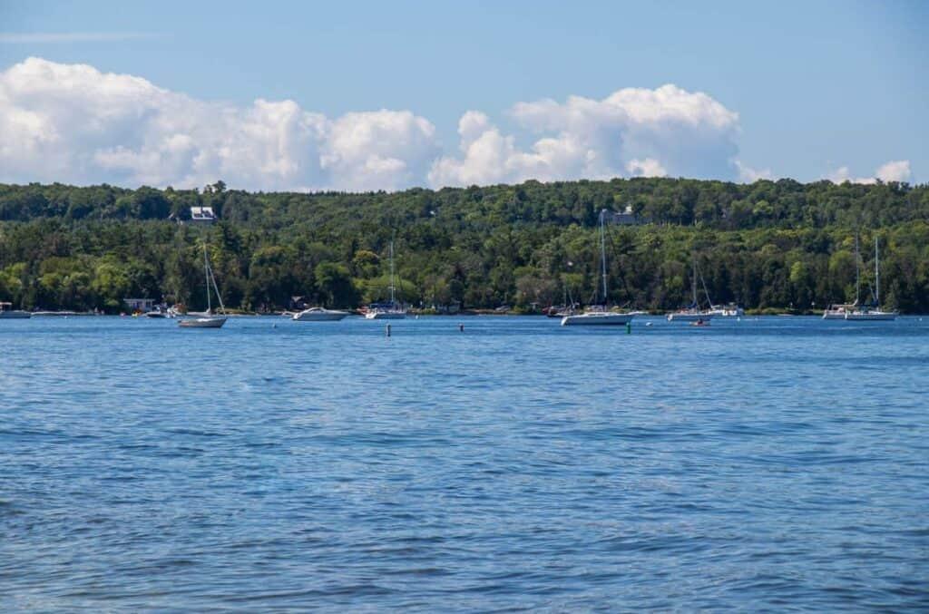 Ephraim Shores Resort Door County hotel on the water