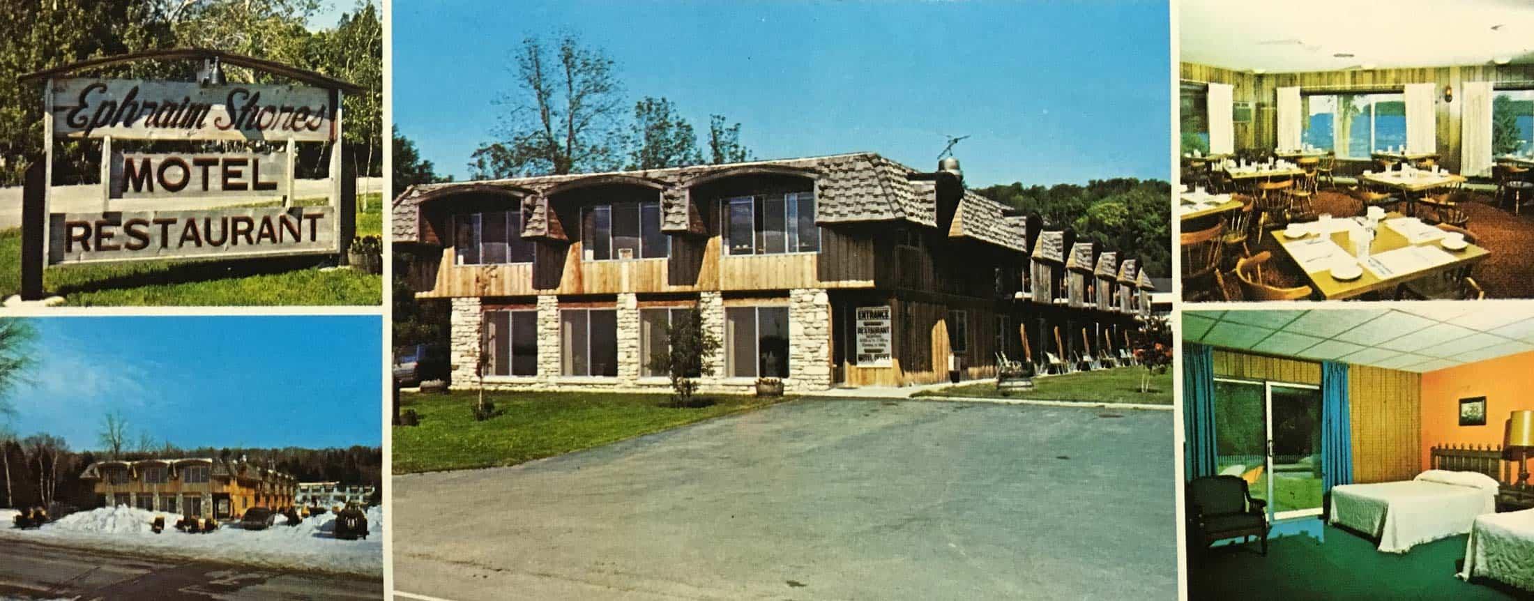 Historical photo of Ephraim Shores Resort