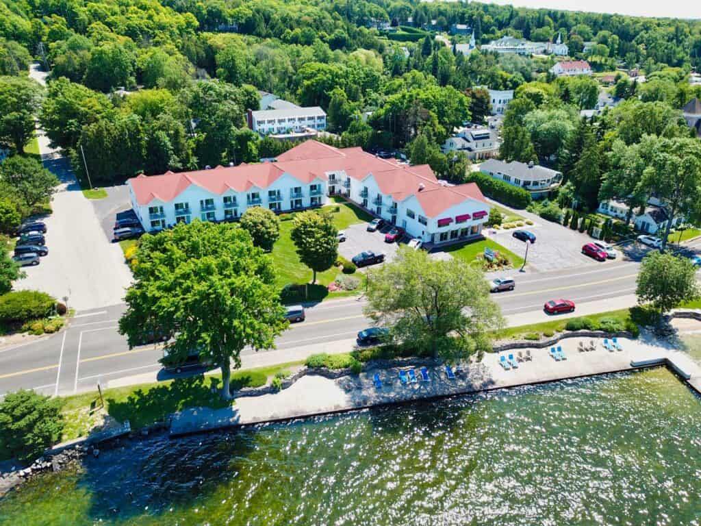 family resort by Peninsula State Park