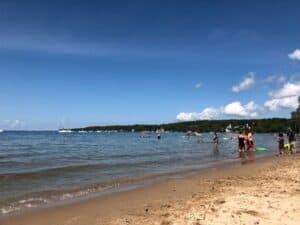 Ephraim Shores Ephraim beach